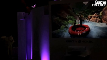 TGS 10: Kinect Adventures gameplay