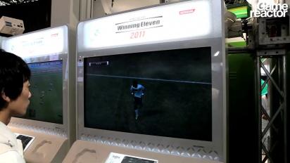 TGS 10: PES 2011 gameplay