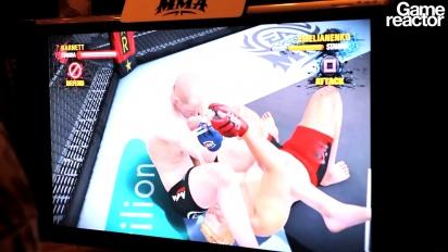 TGS 10: EA Sports MMA Fedor vs Barnett gameplay
