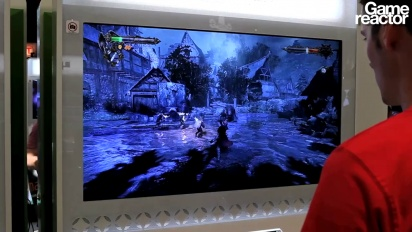 TGS 10: Castlevania: Lords of Shadow gameplay