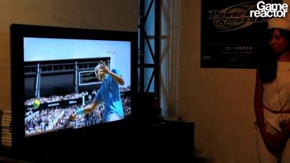 TGS 10: Virtua Tennis 4 gameplay