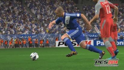 Pro Evolution Soccer 2014 - AFC Champions League Trailer