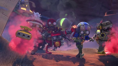 Plants vs. Zombies: Garden Warfare - Zomboss Down Trailer