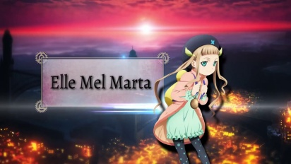 Tales of Xillia 2 - Elle Character Focus Trailer