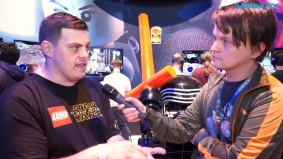 Lego Star Wars: The Force Awakens - Jamie Eden Launch Interview