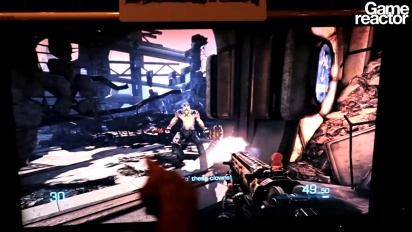 TGS 10: Bulletstorm gameplay