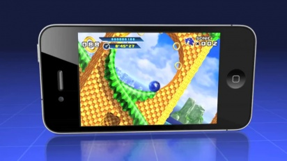 Sonic the Hedgehog 4: Episode I - iPhone Trailer