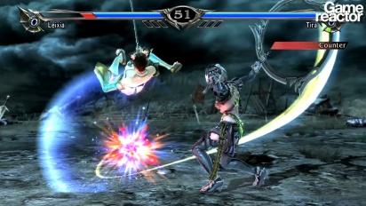 Soul Calibur V - Leixia vs. Tira gameplay