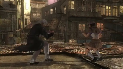 Dead or Alive 5: Last Round - Brad Wong Vs Kokoro the Crimson Trailer