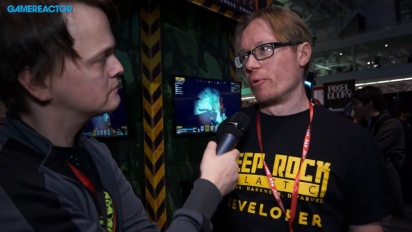 Deep Rock Galactic - Søren Lundgaard Interview
