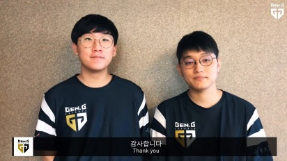 Gen.G LoL - Representing Korea at the Asian Games