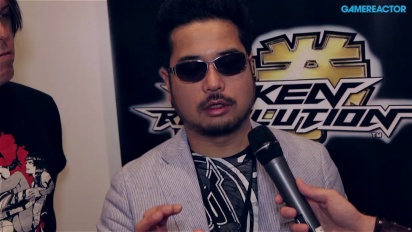 E3 13: Tekken Revolution - Katsuhiro Harada Interview