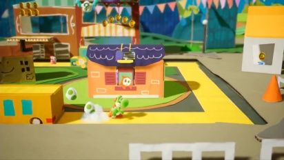 Yoshi's Crafted World - Japanese Overview Trailer