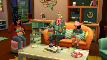 The Sims 4: Nifty Knitting Stuff Pack - Official Trailer