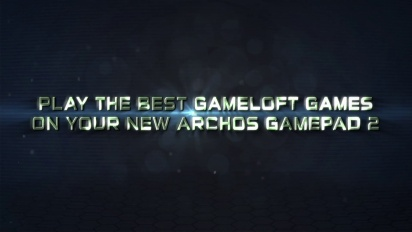 Archos Gamepad 2 - 2 Full Free Gameloft Games Trailer