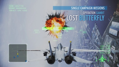 Ace Combat Infinity - Mission Notice Trailer