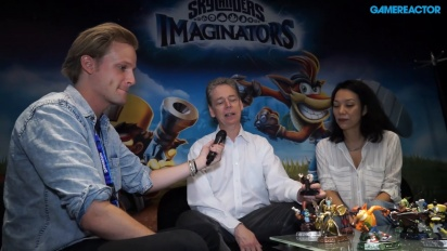 Skylanders Imaginators - Paul Reiche & Jennifer O'Neal Interview