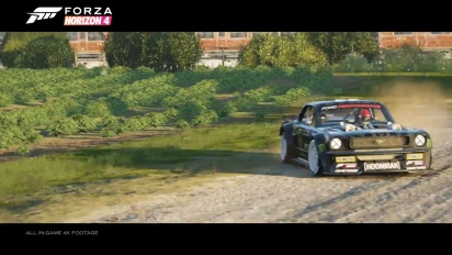 Forza Horizon 4 - GymkhanaTEN Vehicles