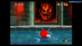Super Mario 64 on Nintendo Switch: Lethal Lava Land Gameplay