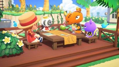 Animal Crossing: New Horizons - Happy Home Paradise DLC Trailer