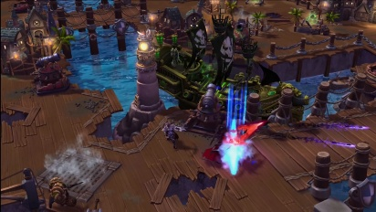 Heroes of the Storm - Blackheart's Revenge Battleground Trailer