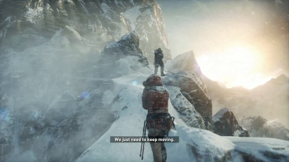 Rise Of The Tomb Raider Standard Ps4 Gameplay