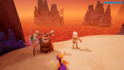 Spyro: Reignited Trilogy - Flossing in Skelos Badlands