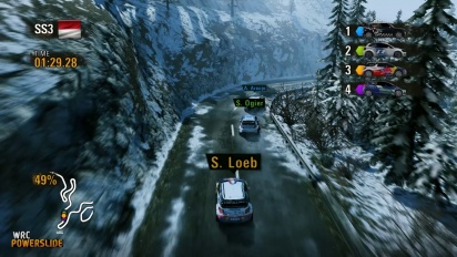 WRC Powerslide - Montecarlo Rally Gameplay
