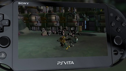 Ratchet & Clank Trilogy - PS Vita Launch Trailer