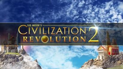Civilization Revolution 2 - Launch Trailer