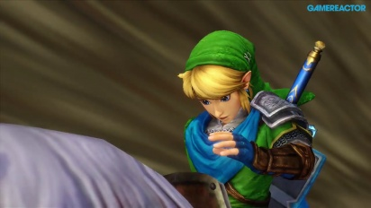 Hyrule Warriors - Skyloft Complete Level Gameplay with Link