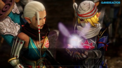 Hyrule Warriors - Death Mountain Complete Level Gameplay with Impa
