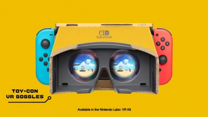 Nintendo Labo: VR Kit + Super Mario Odyssey / The Legend of Zelda: Breath of the Wild