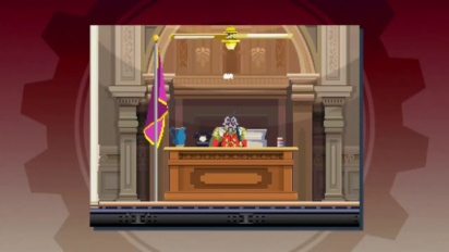 Ghost Trick: Phantom Detective - Büro Gameplay