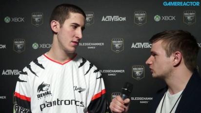 Call of Duty Championship - Haastattelussa Denial eSportsin JKap