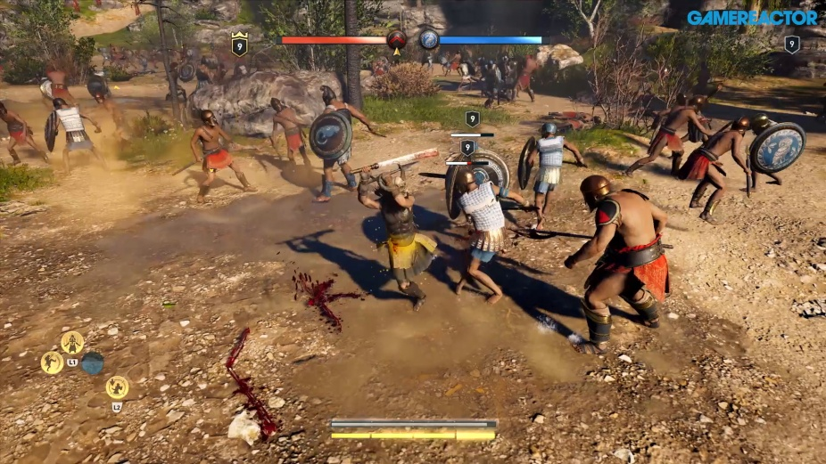 Assassin S Creed Odyssey Fort And Conquest Gameplay