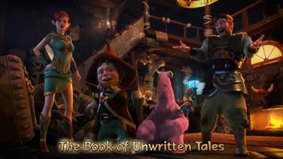 The Book of Unwritten Tales 2 - Switch Trailer