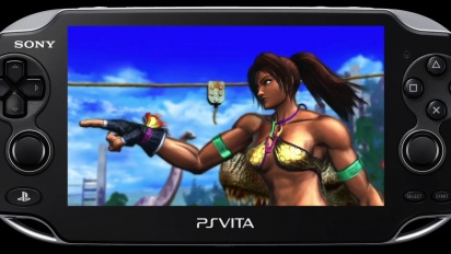 Street Fighter X Tekken - Vita Gameplay Trailer