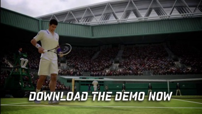 Grand Slam Tennis 2 - Demo Trailer