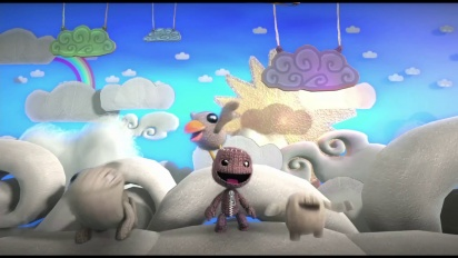 Little Big Planet 3 - Introducing Shooter Trailer