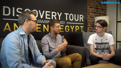Discovery Tour by Assassin's Creed: Ancient Egypt - Maxime Durand and Jean Guesdon Interview