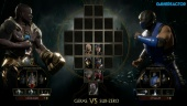 Mortal Kombat 11 - Geras vs. Sub-Zero Reveal Event Gameplay