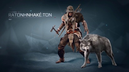 Assassin's Creed 3 - The Tyranny of King Washington: Ratonhnhaké:ton 360 Degrees Trailer
