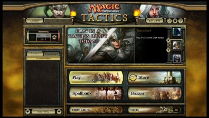 Magic The Gathering: Tactics - VLog Trailer