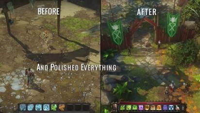 Divinity: Original Sin - Before and After Kickstarter Trailer