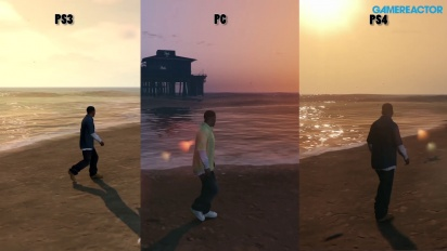 GTA V PC - Comparison with PS3 and PS4