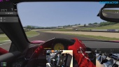 Assetto Corsa - Mugello Hotlap with Fanatec ClubSport V2.5 + Universal Hub + V3 Pedals Inverted
