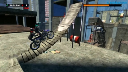 Trials Rising - Switch Gameplay