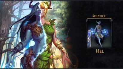 Smite - New Hel skin: Solstice