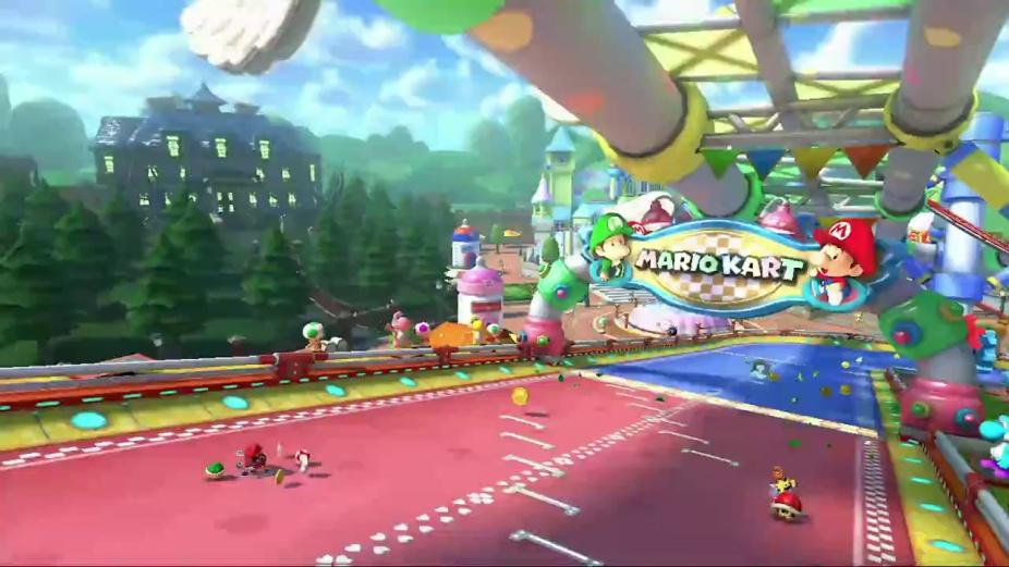 Baby Mario Mario Kart 8: DLC Pack 2 GCN Baby Park Trailer
